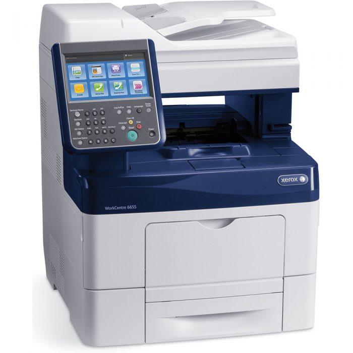 Multifunzione a colori Xerox WorkCentre 6655 1
