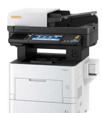 Multifunzione In Bianco E Nero Utax P-6036i